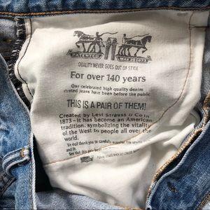 Levi's Jeans - Levi's 550 38 x 30 Blue Jeans